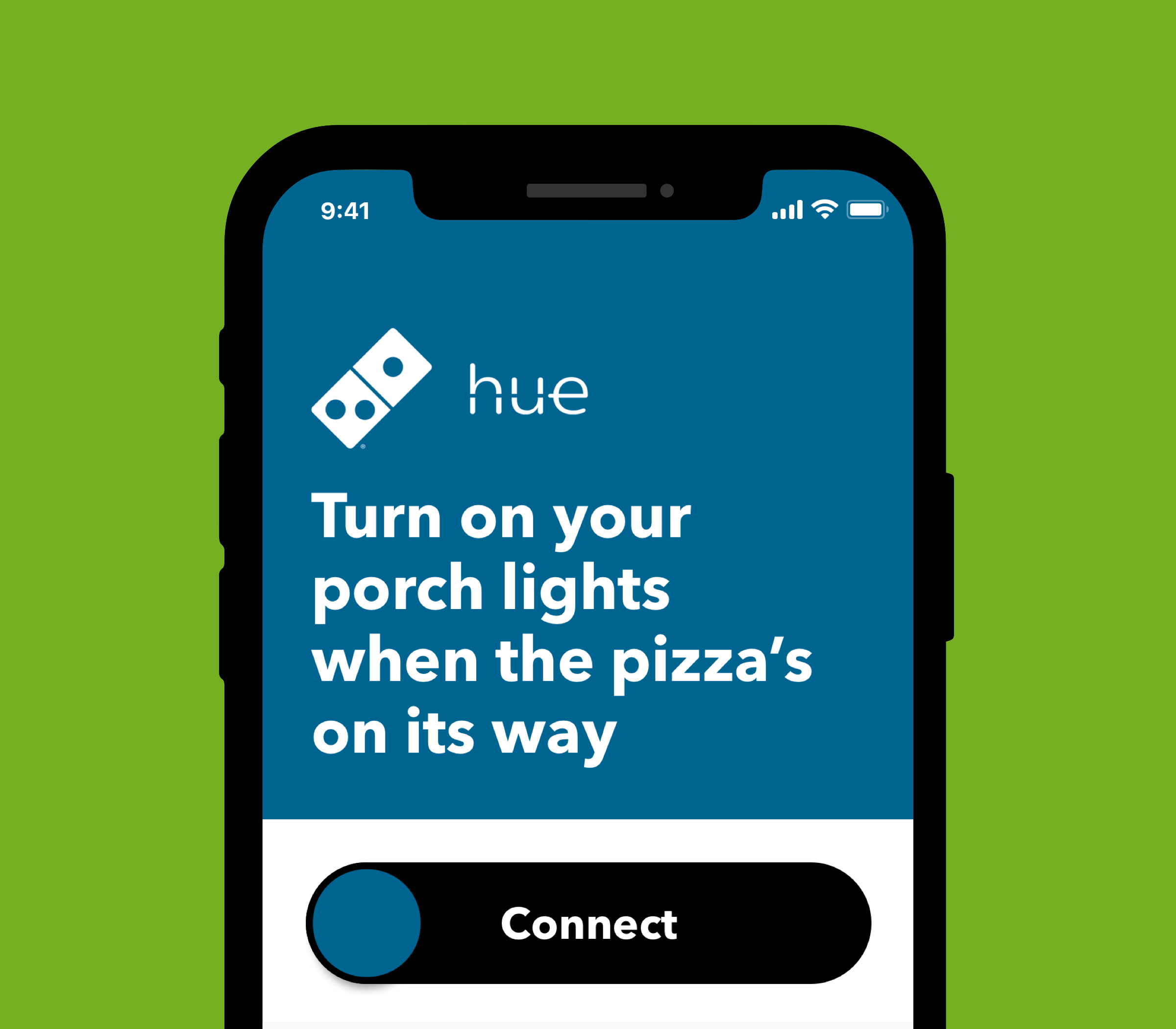 Connect Domino's to Philips Hue