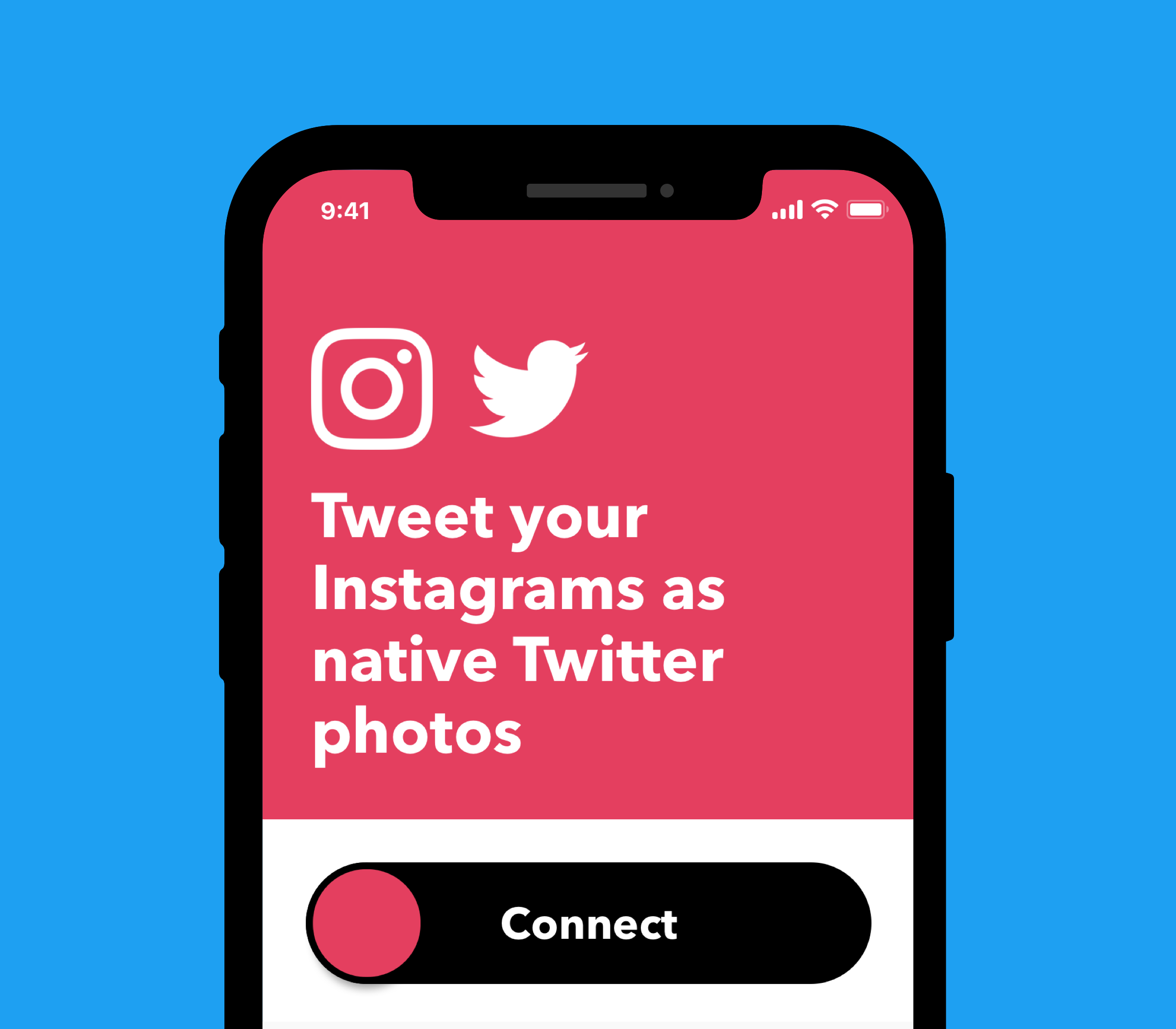 Connect Instagram to Twitter