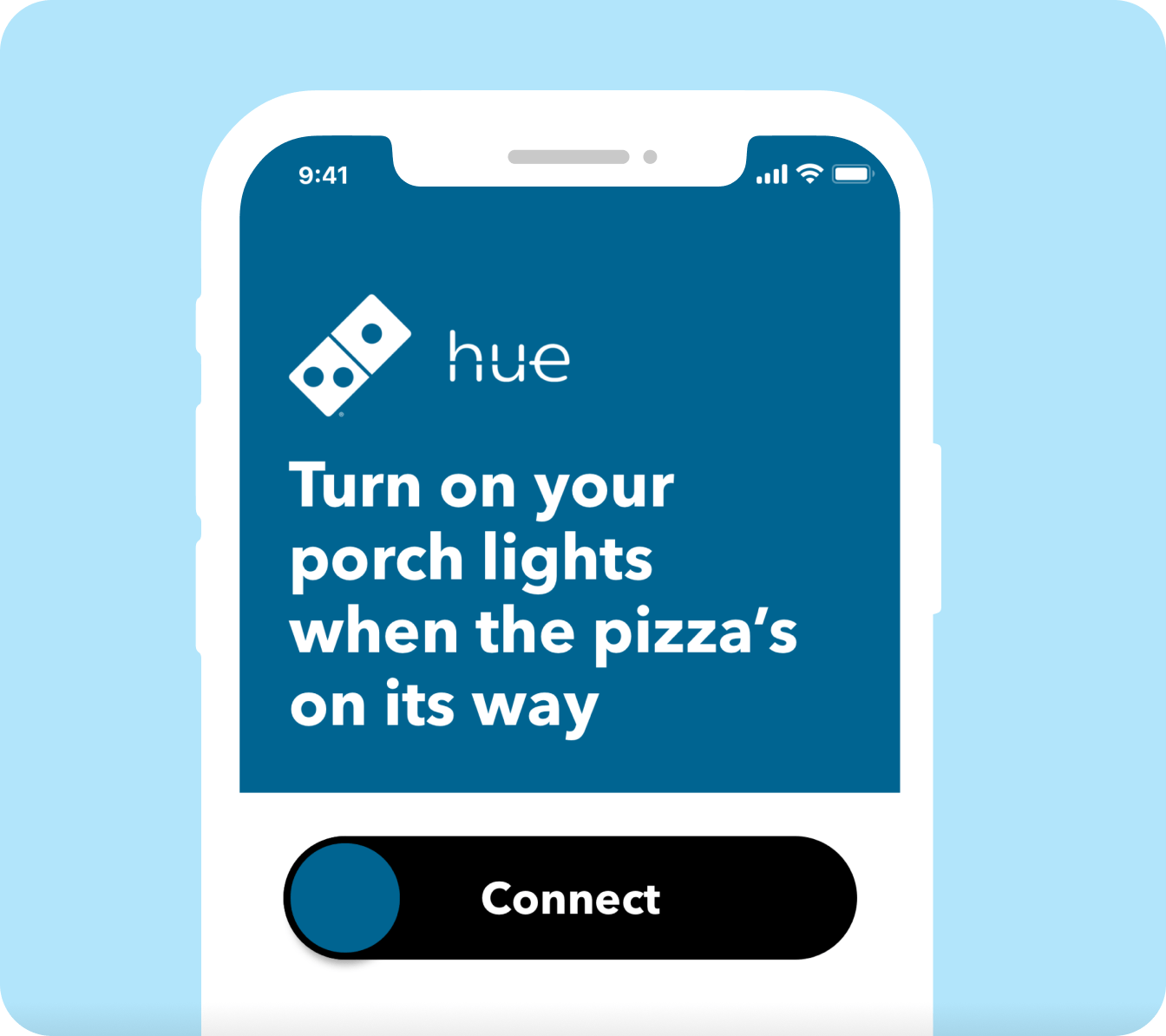 iPhone: Turn on your porch lights when the pizza's on its way