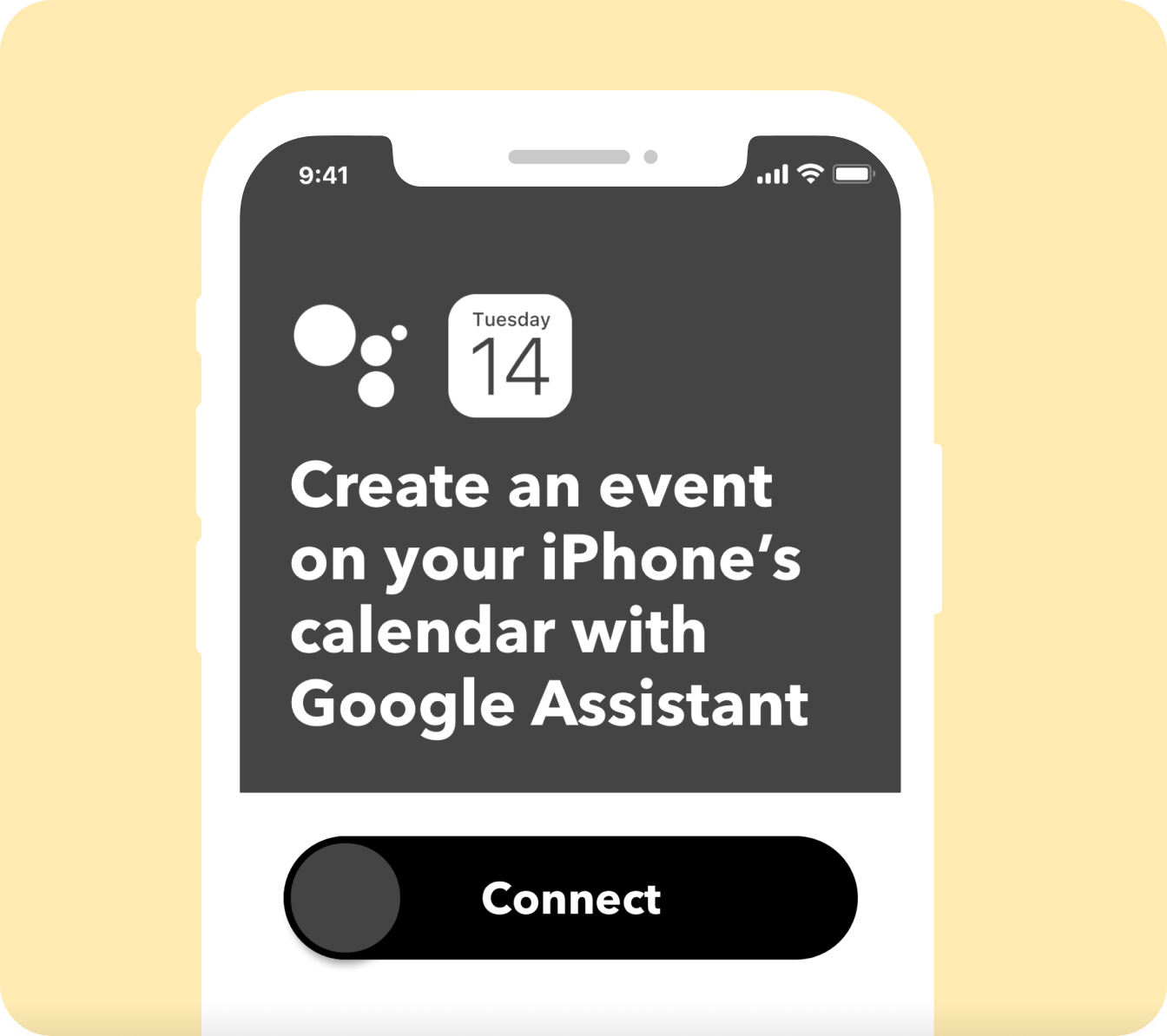 iPhone: Create an event on your iPhone's calendar with Google Assistant