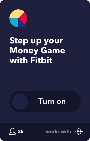 Step up your Money Game with Fitbit